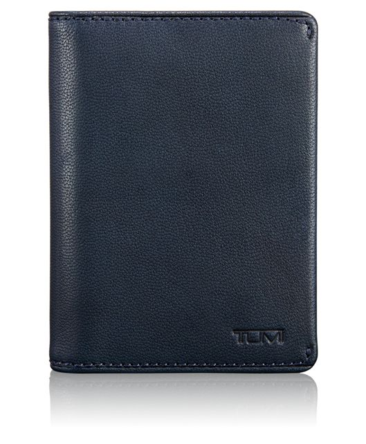 TUMI ID Lock™ Folding Card Case in Navy