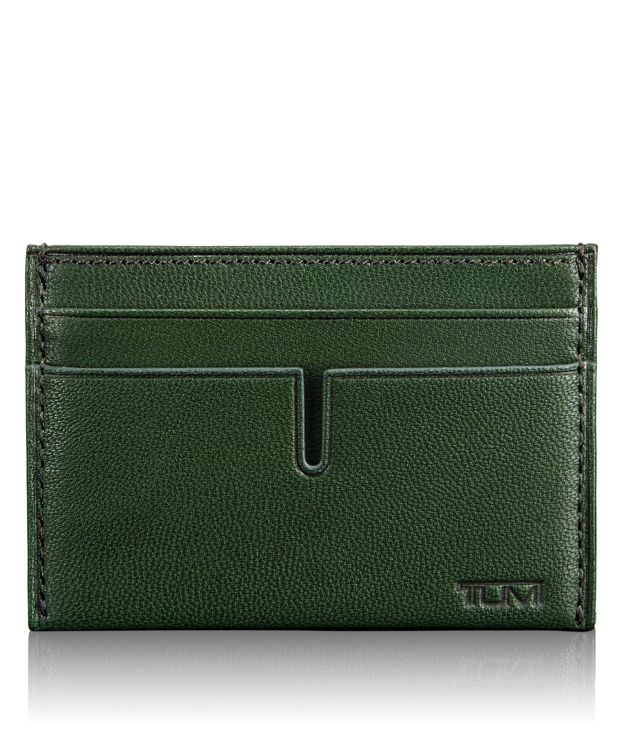 TUMI ID Lock™ Slim Card Case in Hunter