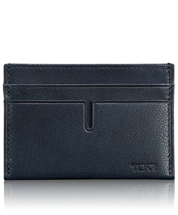 TUMI ID Lock™ Slim Card Case in Navy