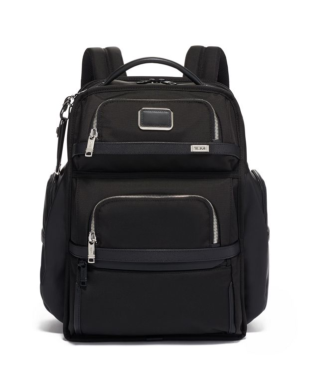 TUMI Brief Pack® in Black Chrome