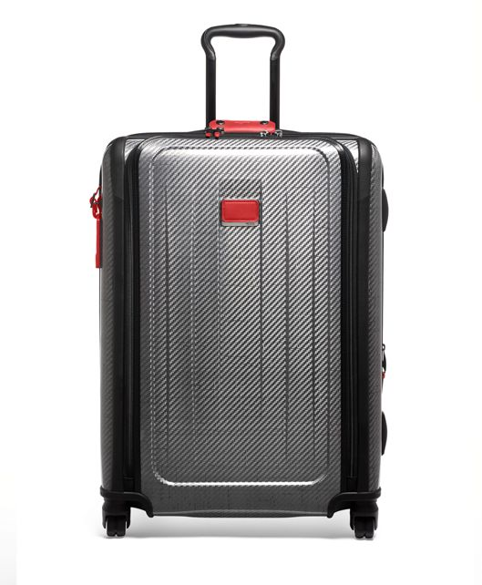 Short Trip Expandable 4 Wheeled Packing Case in Cherry