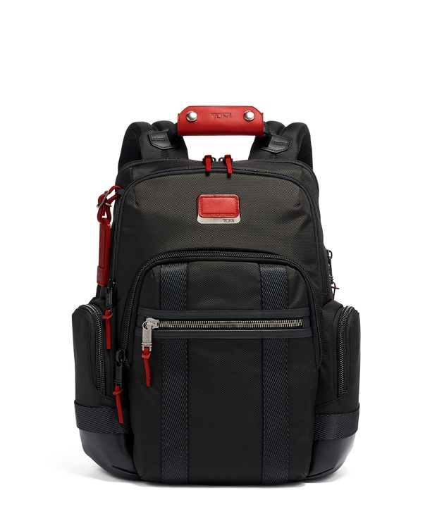 Nathan Expandable Backpack in Cherry