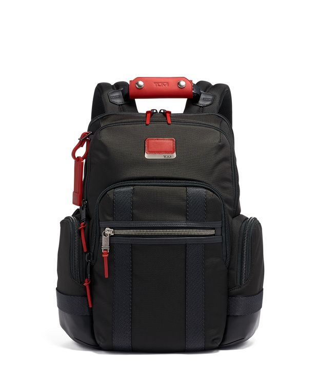 Norman Backpack in Cherry