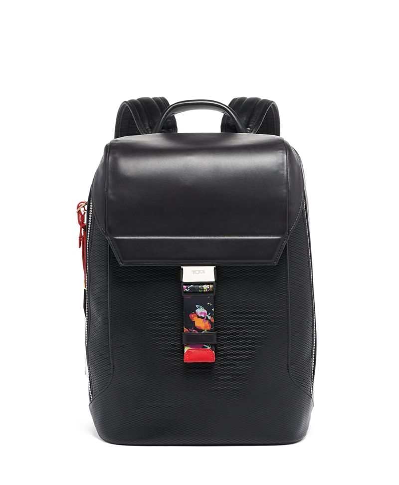 Dolton Flap Backpack Leather