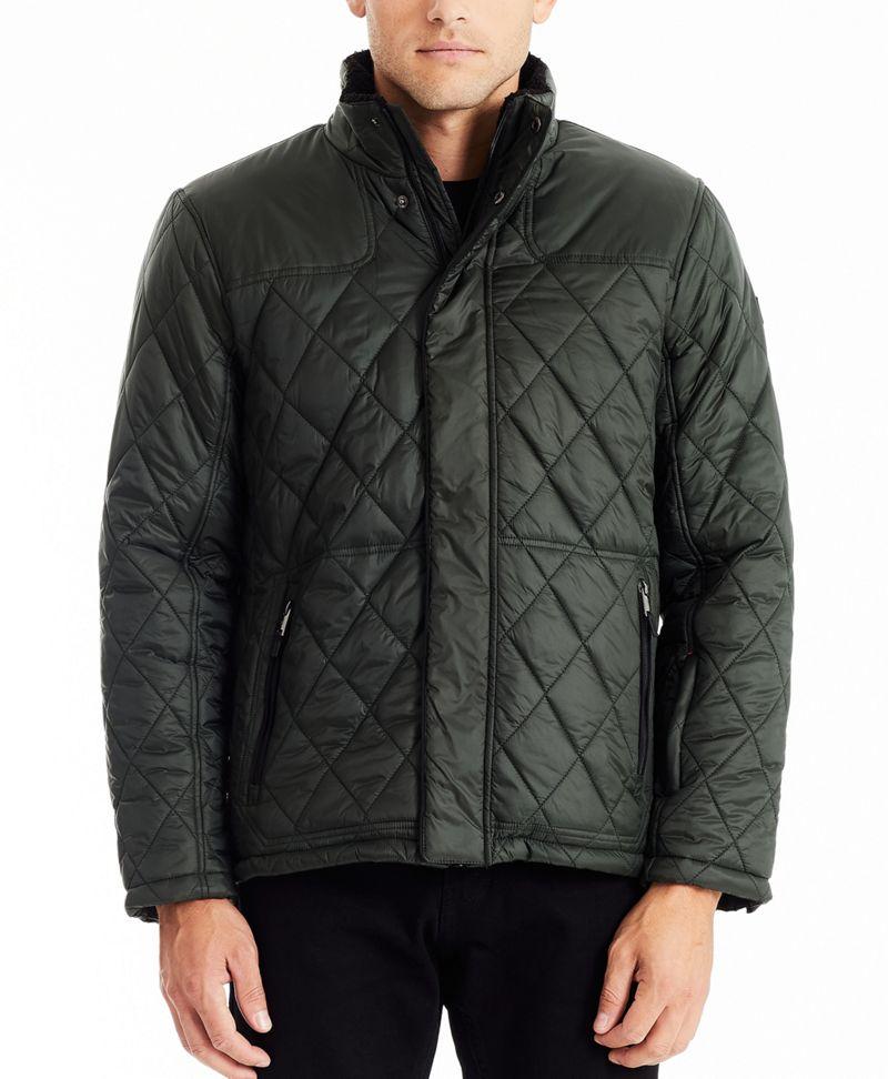 Men's Luxe Quilt Jacket