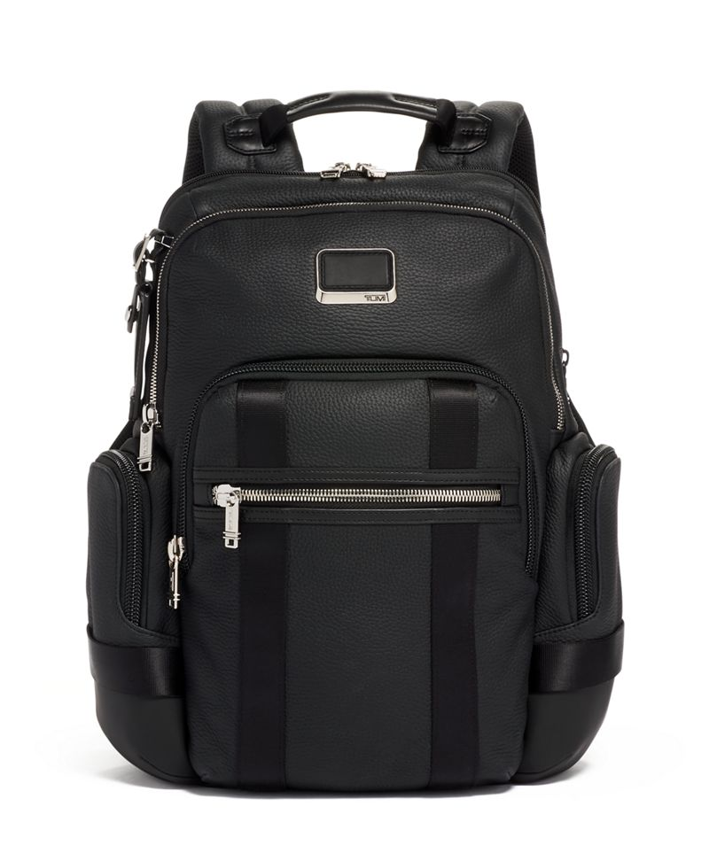 Nathan Expandable Backpack Leather