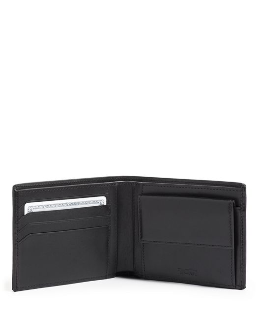 GBL WALLET W/ COIN POCKET BLK SMOOTH - large | Tumi Thailand