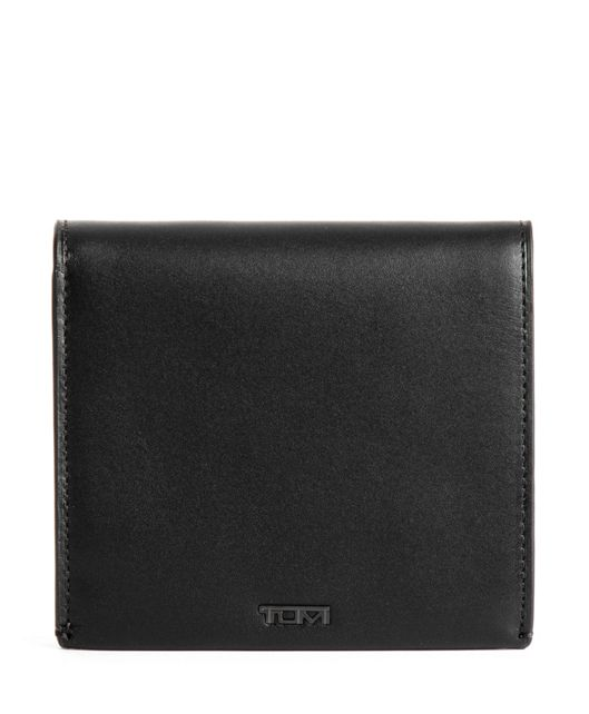 GLOBAL FLIP COIN WALLET BLK SMOOTH - large | Tumi Thailand