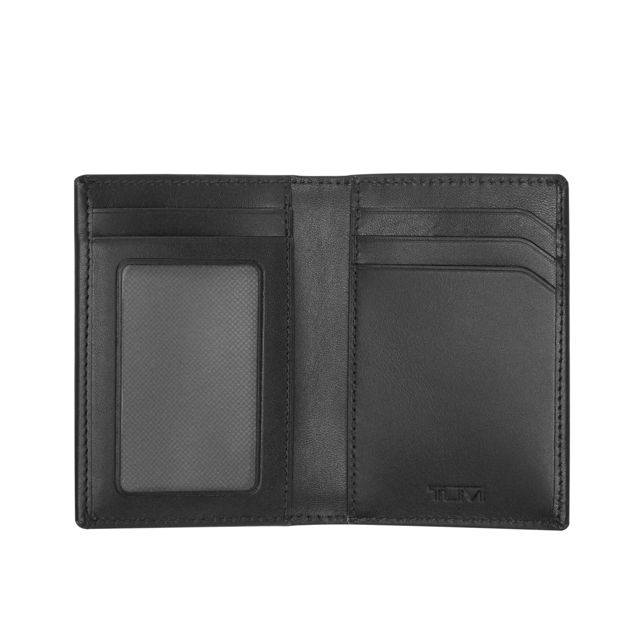 MULTI WINDOW CARD CASE BLK SMOOTH - large | Tumi Thailand