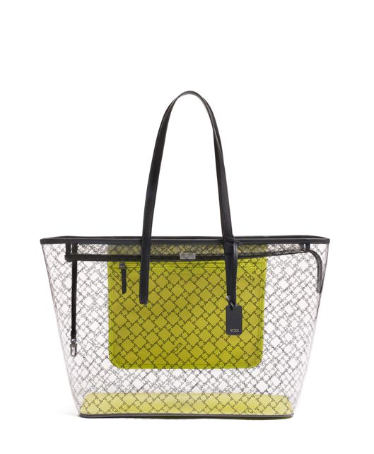 Everyday Tote in Trans. Bright Lime
