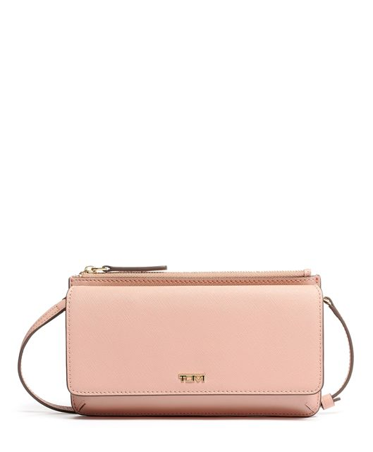 Wallet Crossbody in Blush