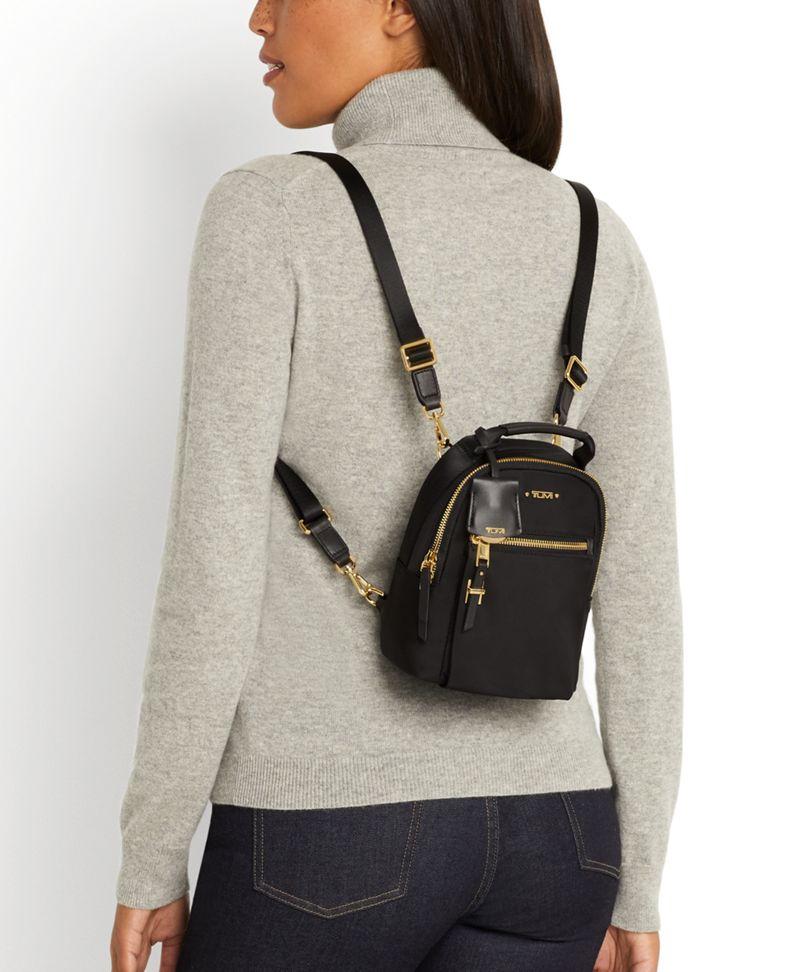 Lily  Indigo Serra Mini Convertible Backpack