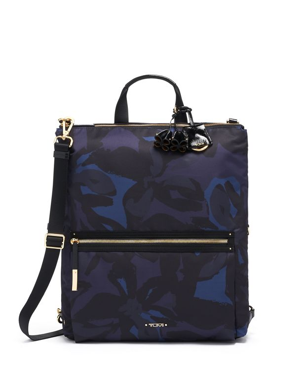 Jane Convertible Backpack in Lily Indigo