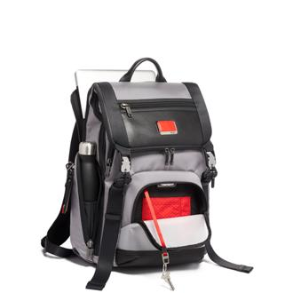 LARK BACKPACK GREY/BRRED - medium | Tumi Thailand