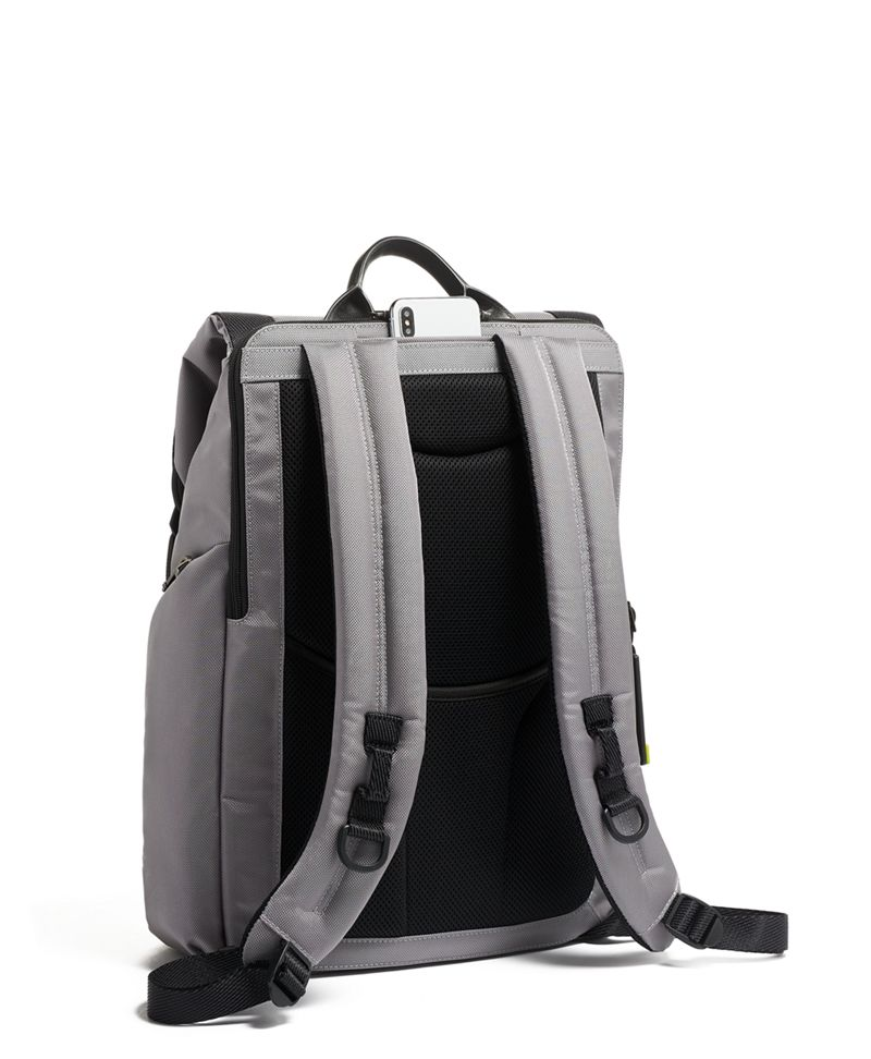 Grey/Bright  Lime Lark Backpack