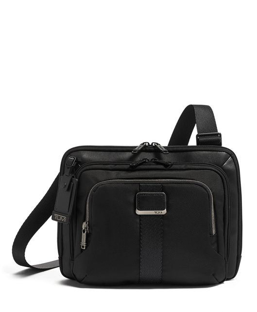 JACKSON CROSSBODY BLACK - large | Tumi Thailand