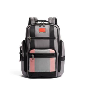 SHEPPARD DELUXE BFPK GREY/BRRED - medium | Tumi Thailand