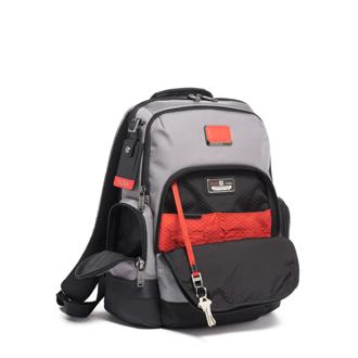 NORMAN BACKPACK GREY/BRRED - medium | Tumi Thailand