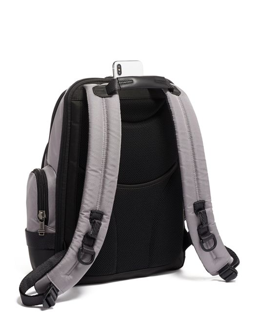 NORMAN BACKPACK GREY/BRRED - large | Tumi Thailand