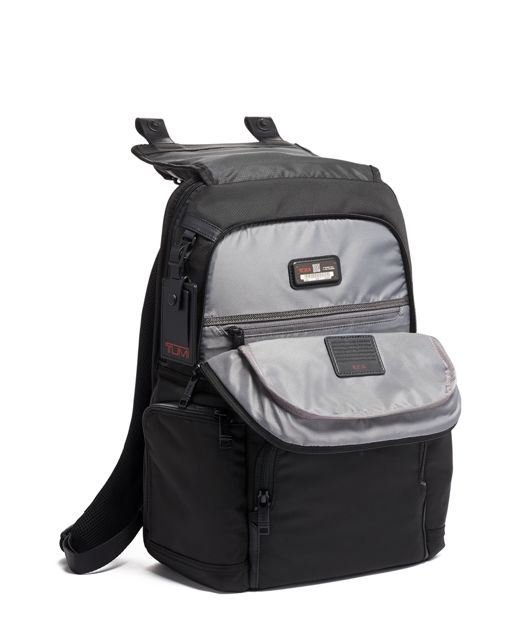 FLAP BACKPACK BLACK - large | Tumi Thailand