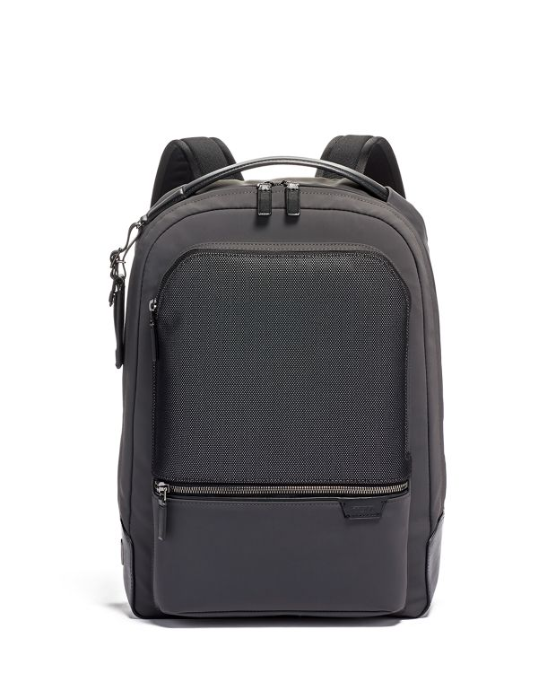 Bradner Backpack in Reflective Iron