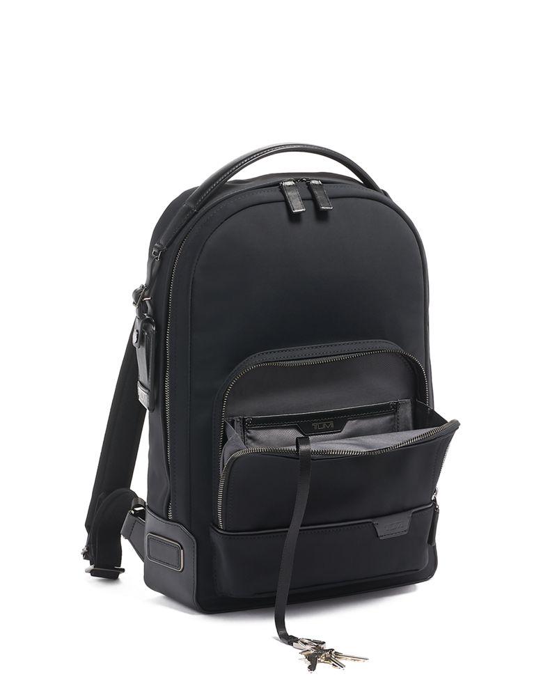 Black Clinton Backpack
