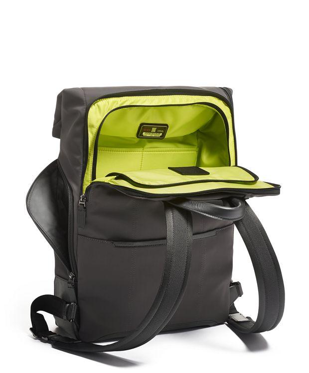 Reflective  Iron Osborn Roll Top Backpack