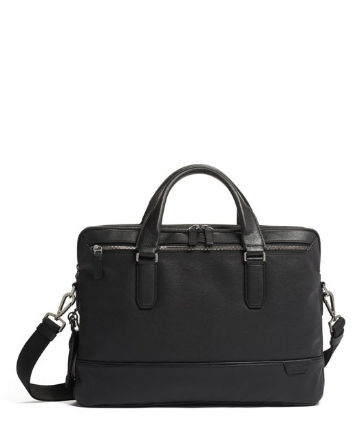 SYCAMORE SLIM BRIEF BLACK - large | Tumi Thailand