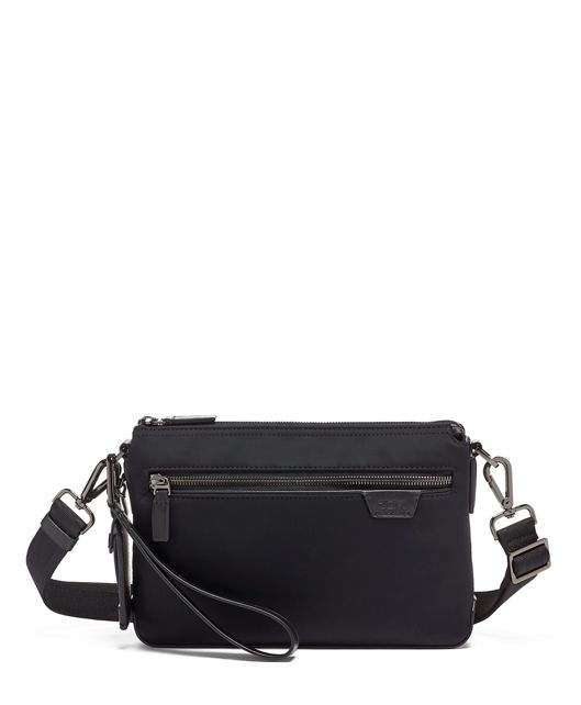 Black Sherman Crossbody