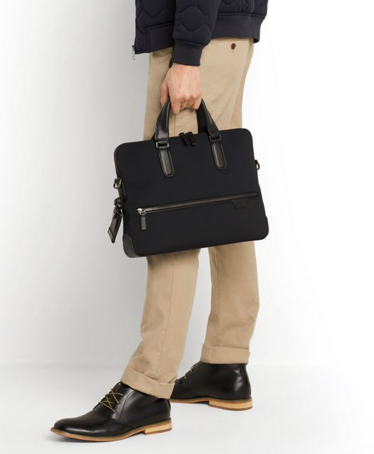 TOWER PORTFOLIO BRIEF NAVY - large | Tumi Thailand