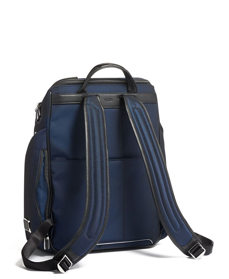 Navy Ford Backpack