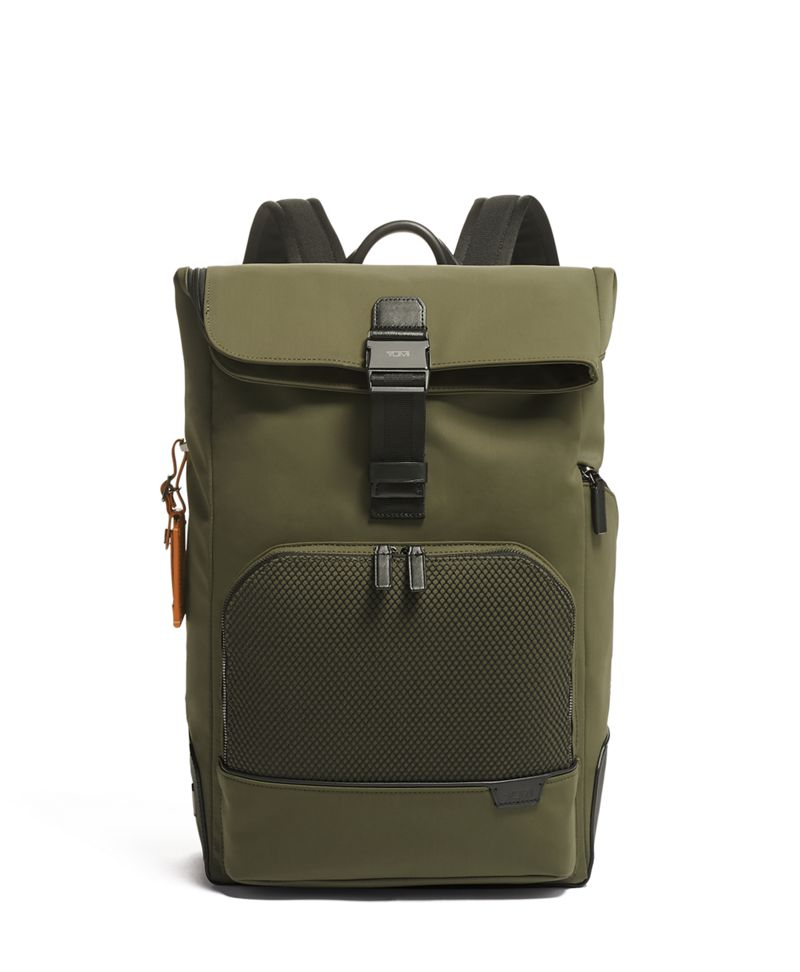 Algae  Mesh Osborn Roll Top Backpack