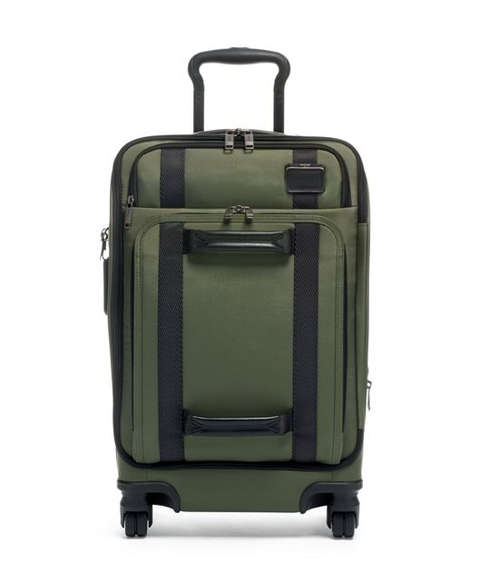 International Front Lid 4 Wheeled Carry-On in Forest Green
