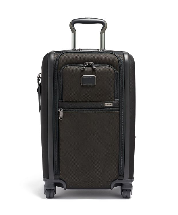 International Dual Access 4 Wheeled Carry-On in Reflective Multi
