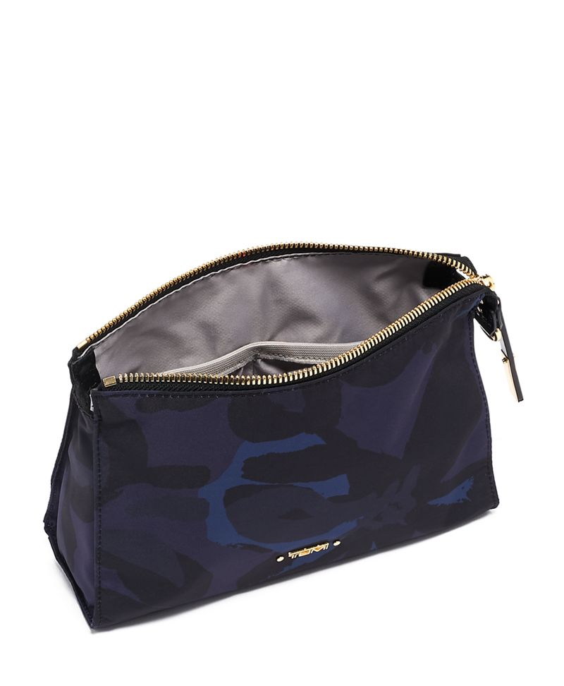 Lily  Indigo Basel Small Triangle Pouch