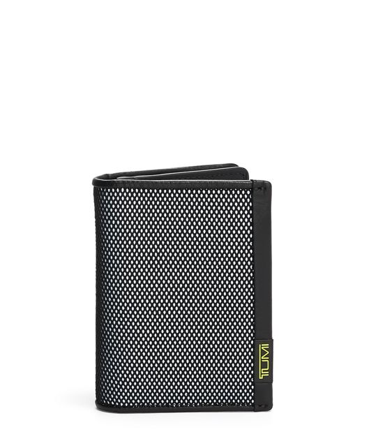 GUSSETED CARD CASE REFL/BRLIM - large | Tumi Thailand