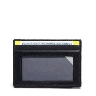 SLIM CARD CASE REFL/BRLIM - medium | Tumi Thailand