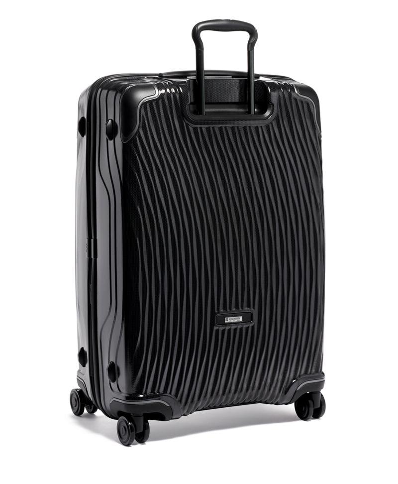 黑长途可扩展行李箱