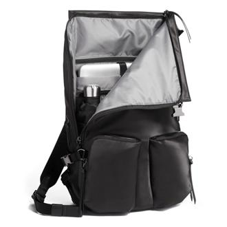 NORTH ROLL TOP BACKPACK black - medium | Tumi Thailand