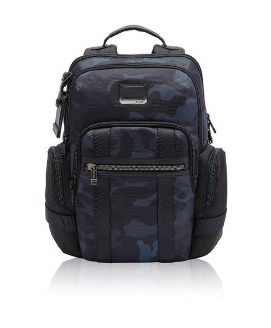 Navy  Camo Norman Backpack