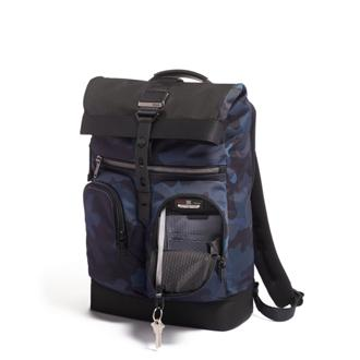 LANCE BACKPACK Navy Camouflage - medium | Tumi Thailand