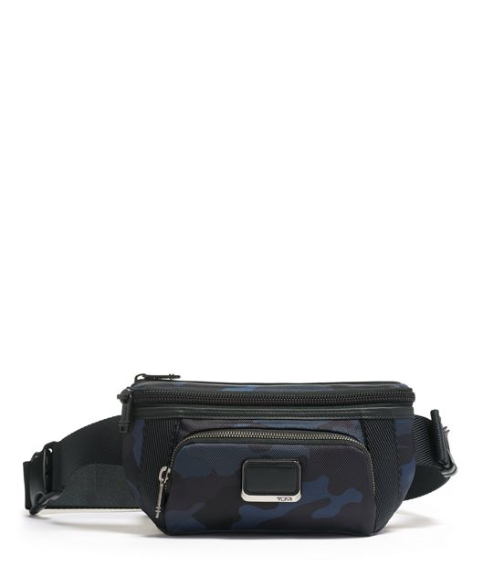 CAMPBELL UTILITY POUCH NAVY CAMFL - large | Tumi Thailand