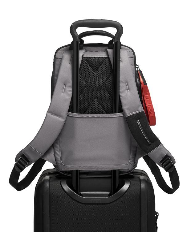 Grey  Embossed Nottaway Backpack