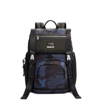 LARK BACKPACK Navy Camouflage - medium | Tumi Thailand