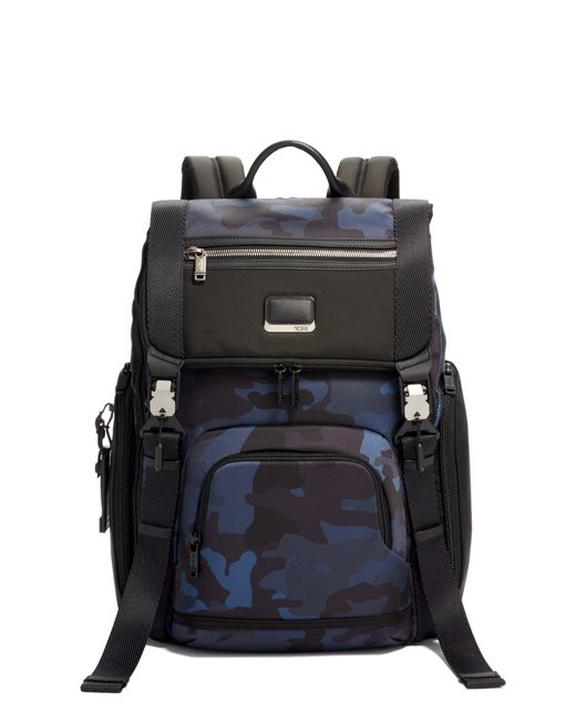 LARK BACKPACK Navy Camouflage - large | Tumi Thailand