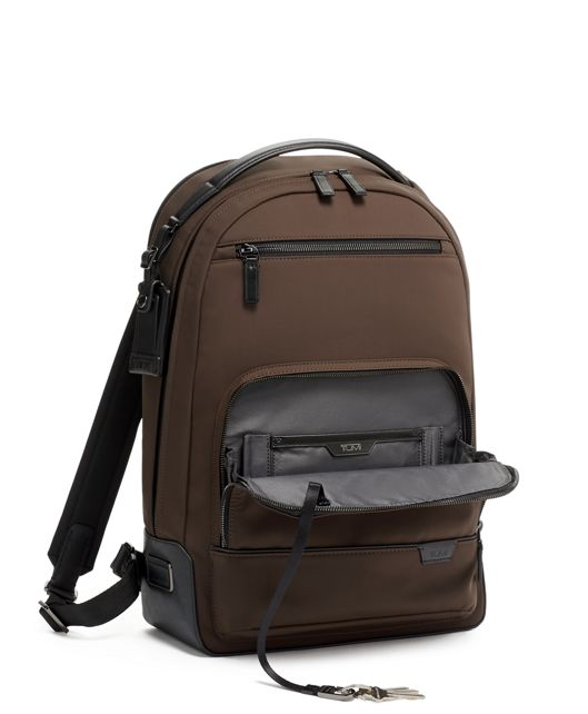 WARREN BACKPACK Dark Brown - large | Tumi Thailand