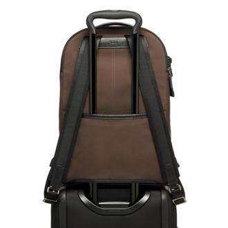 WARREN BACKPACK DARK BROWN - medium | Tumi Thailand