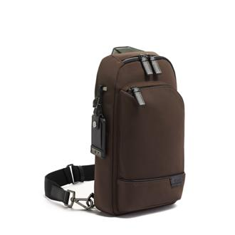 GREGORY SLING Dark Brown - medium | Tumi Thailand