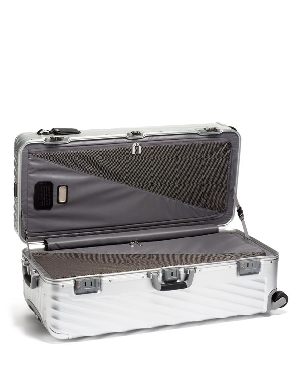 Silver Rolling Trunk