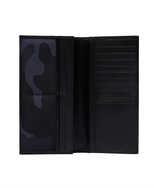 BREAST POCKET WALLET Nvy Cam/Bk - large | Tumi Thailand